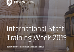 international staff training week lisbon 2019